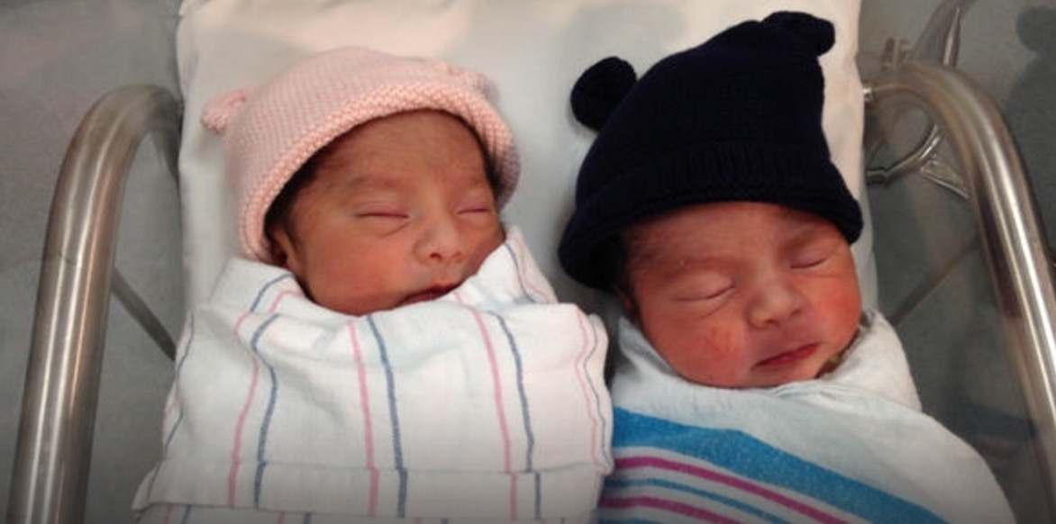 california twins born one year apart  and it u2019s not a hoax