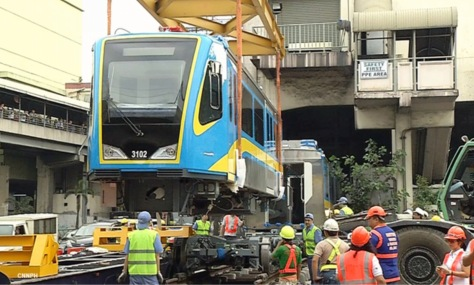 New MRT coaches arrive from China