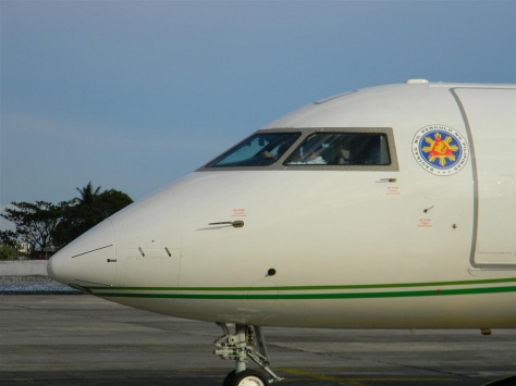 The Philippine presidential plane