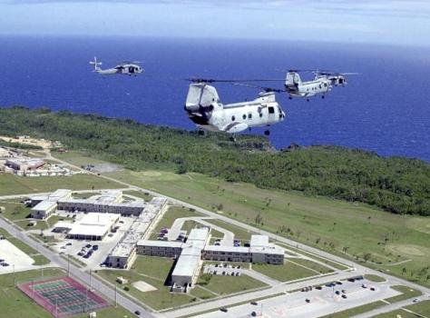 U.S. naval base in Apra Harbor, Gusm