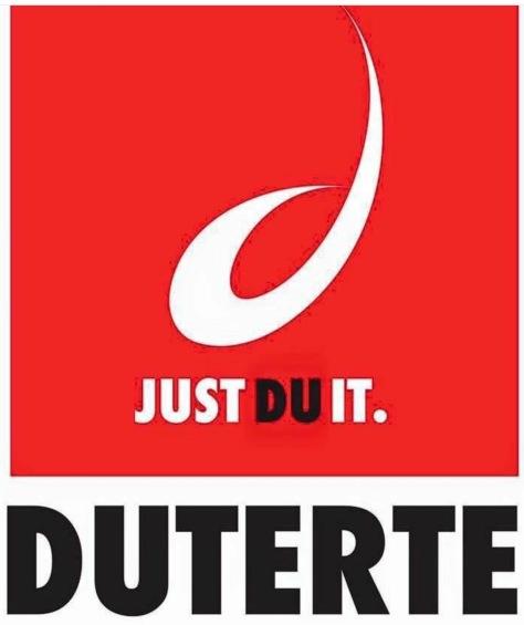 The Duterte campaign logo