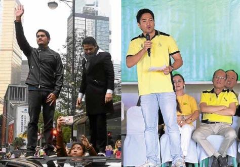 Duterte (waiving), and Roxas
