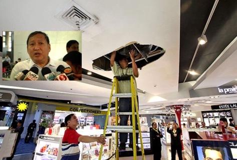 Latest NAIA bad luck incident; inset: Honrado