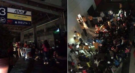 Power goes out in NAIA Terminal 3