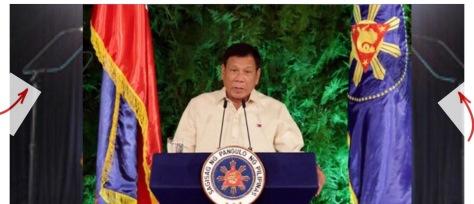 Duterte's custom teleprompters