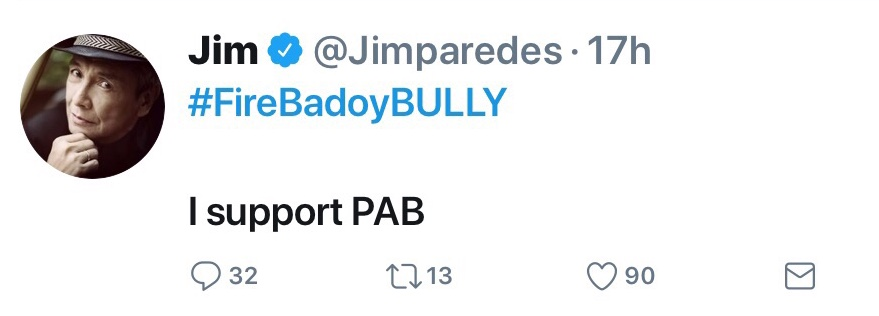Cynthia Patag Jim Paredes Accused Of Politicizing: Jim Paredes: A Powerful Influence In The Duterte