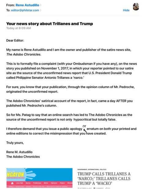phil star news ngayon